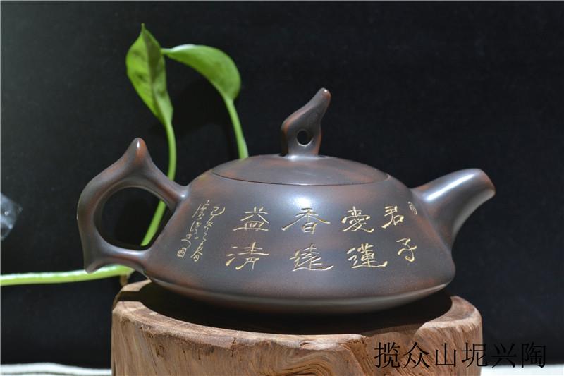 钦州坭兴陶茶壶价格