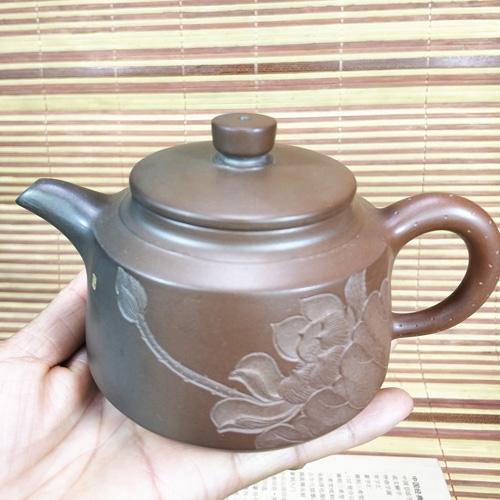 天然材料不添加化工颜料坭兴陶窑变
