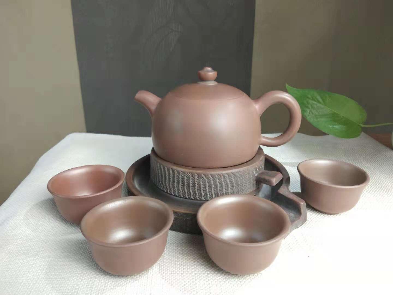 功夫茶具套装,坭兴陶国中四大名陶之一