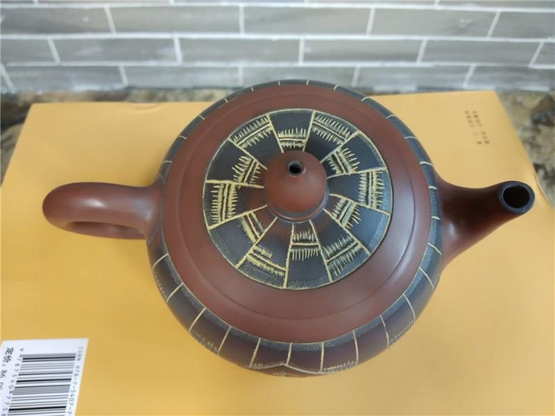竹福壶,祝福壶,坭兴陶民间大师精心制作