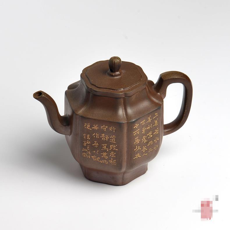 坭兴陶六方福壶