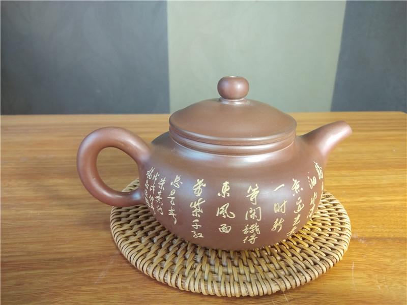 钦州坭兴陶仿古壶原料为正宗环保的泥料
