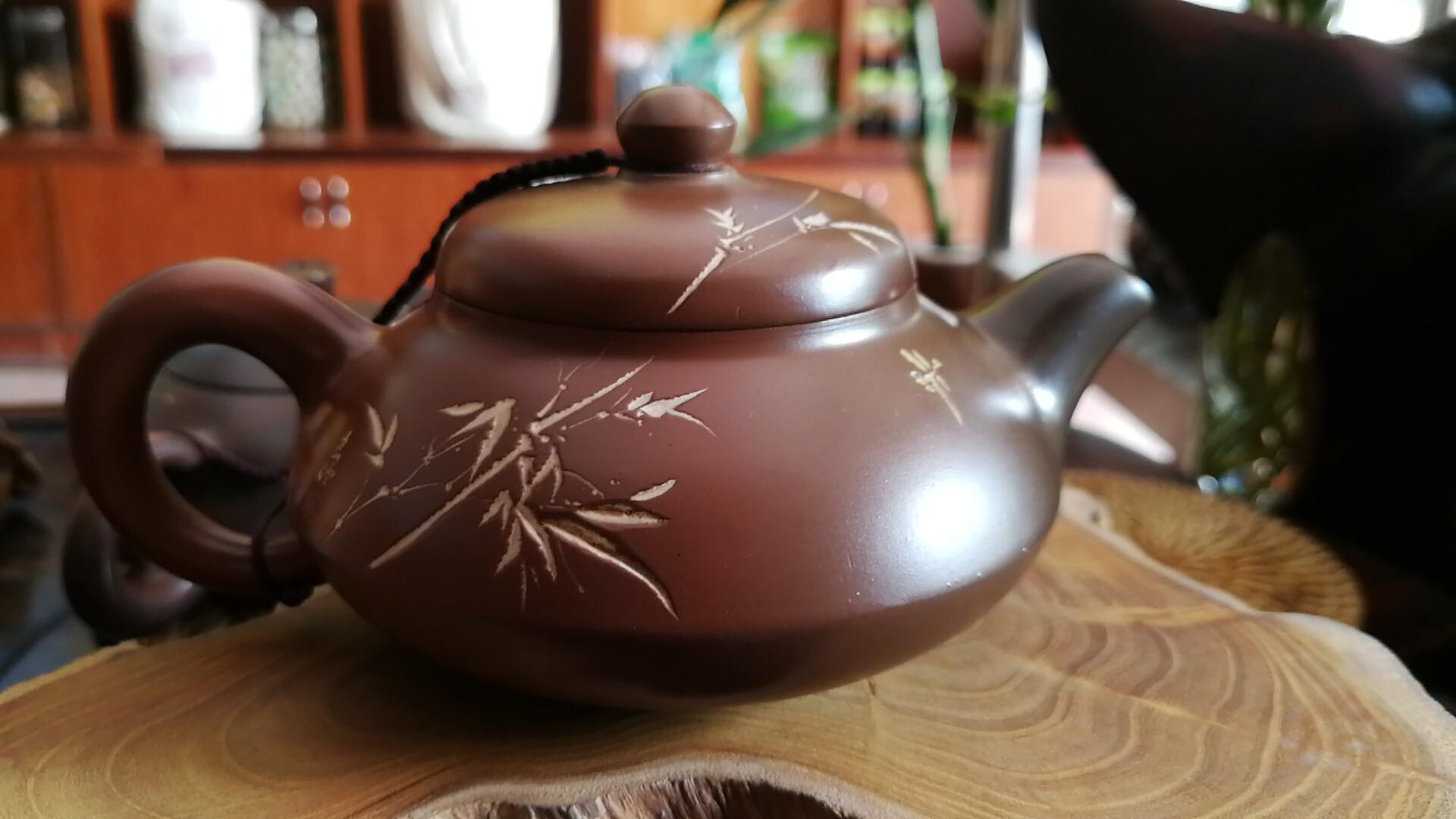 坭兴陶隔夜茶