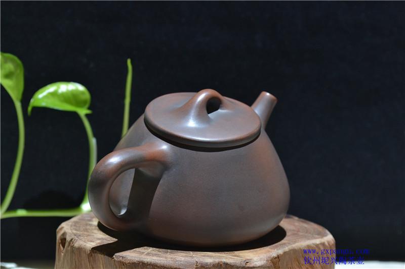 坭兴陶经典壶型石瓢壶
