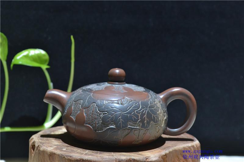 钦州坭兴陶葫芦茶具